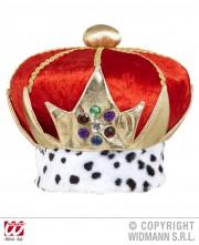 couronne royale, couronne de roi, chapeaux de roi, accessoires déguisement roi, couronne des rois, chapeau royal Couronne Royale, Velours
