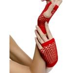 gants déguisement, accessoire gants déguisement, accessoire mitaines résille déguisement, gants rouges déguisement Gants Courts Mitaines Résille, Rouges