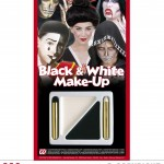 palette maquillage noir et blanc, maquillage halloween, maquillage déguisement halloween, maquillage noir et blanc Palette Maquillage Noir et Blanc