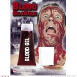 faux sang avec gaze, faux sang, maquillage faux sang halloween, faux sang déguisement, faux sang paris, faux sang comestible, faux sang effets spéciaux Faux Sang en Gel + Gaze