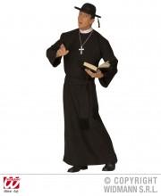 déguisement de curé, costume de curé, déguisement curé homme, costume curé homme, déguisement religieux adulte, costume religieux déguisement Déguisement Curé, Prêtre Camillo