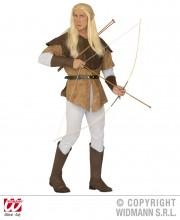 déguisement d'elfe, déguisement moyen age homme, déguisement médiéval homme, déguisement robin des bois homme, costume robin des bois adulte, déguisement archer homme, costume archer homme Déguisement Elfe Archer