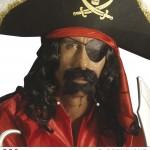 cache oeil de pirate, accessoire déguisement pirate, bandeau pirate déguisement, cache oeil déguisement pirate, accessoire déguisement, accessoire pirate Cache Oeil de Pirate
