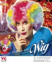 perruques paris, perruques femmes, perruques pas cherperruque de clown multicolore, Perruque de Clown, Multicolore