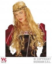 perruque pas chère à paris, perruques femmes, perruques de déguisement, perruque historique, perruque médiévale, perruque moyen âge Perruque Monalisa, Blonde