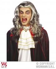 perruque pour homme, perruque pas chère, perruque de déguisement, perruque homme, perruque grise, perruque de vampire, perruque dracula Perruque Vampire, Grise
