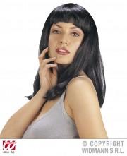 perruque pas chère à paris, perruques femmes, perruques de déguisement, perruque noire Perruque Patsy, Noire
