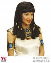 perruque femme, perruque pas cher paris, perruque noire, perruque cléopatre, perruque d'égyptienne, perruque de cléopatre Perruque Cléopatre, Noire