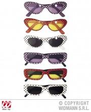 lunettes de déguisement, lunettes de fêtes, lunettes soirée déguisée, accessoires lunettes, lunettes pas chères,lunettes fantaisie, lunettes rétros, lunettes à pois, lunettes années 50, lunettes années 60 Lunettes Rétro