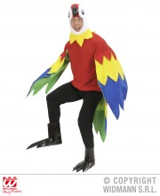 déguisement de perroquet, costume perroquet adulte, déguisement perroquet homme, déguisement oiseau homme, costume animal, déguisement animal homme Déguisement Perroquet, Combinaison