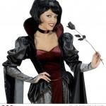 rose noire en tissu, accessoire halloween, accessoire déguisement halloween, rose noire halloween, rose maléfique accessoire, décoration halloween Rose Noire