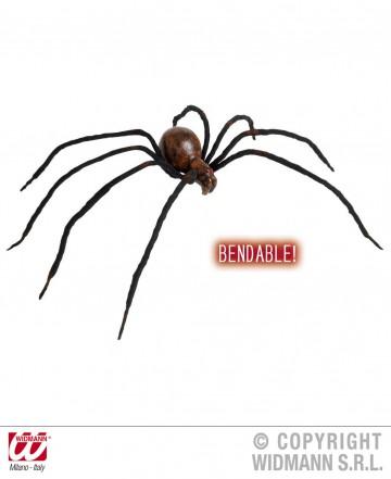 fausse araignée, araignées halloween, accessoire araignée halloween, accessoire décorations halloween, décorations araignées halloween, décorations halloween, fausse araignée flexible Araignée Veuve Noire