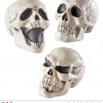 tête de mort décoration halloween, décos halloween, faux crâne halloween, tête de mort décoration, tête de mort halloween, tête de mort réaliste Faux Crâne, Tête de Mort, 3 Modèles PM