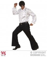 soirée disco, déguisement disco, pantalon pattes d'eph, pantalon disco, accessoire disco déguisement Déguisement Disco Années 80, Pantalon Pattes d'Eph Noir