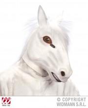 masque cheval, masque de déguisement, masque animaux, accessoire déguisement animaux, masque d'animal déguisement, masques d'animaux déguisement, se déguiser en animal Masque de Cheval Blanc, Latex