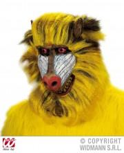 masque babouin latex, masque de déguisement, masque animaux, accessoire déguisement animaux, masque d'animal déguisement, masques d'animaux déguisement, se déguiser en animal Masque de Babouin, Latex