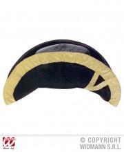bicorne, chapeau bicorne, chapeaux bicornes et tricornes, chapeau napoléon, accessoires vénitiens Chapeau Bicorne, Galon Or