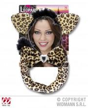 kit de léopard déguisement, accessoire déguisement de léopard, accessoire léopard déguisement, oreilles de léopard déguisement, queue de léopard déguisement Kit de Léopard