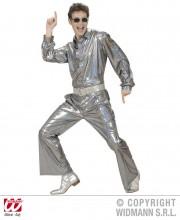 soirée disco, déguisement disco, pantalon pattes d'eph, pantalon disco, accessoire disco déguisement Déguisement Disco Années 80, Pantalon Argent