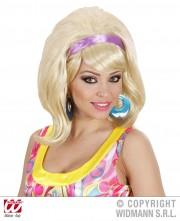 perruque pour femme, perruque brune, perruque blonde, acheter perruque femme à paris, perruque de déguisement, perruque pas cher, perruque années 60 Perruque Années 60, Mod, Blonde