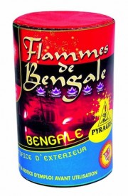 feux de bengale, pétards, pétards et fumigènes, pyragric, acheter des pétards à paris Flamme de Bengale, Rouge