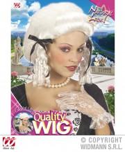 perruque femme, perruque pas cher paris, perruque blanche, perruque de marquise, perruque de princesse, perruque historique, perruque versailles Perruque de Marquise, Colonial Lady, Blanche
