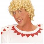 perruque pour homme, perruque pas chère, perruque de déguisement, perruque homme, perruque cupidon, perruque blonde, perruque d'ange Perruque de Cupidon, Blonde