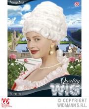 perruque femme, perruque pas cher paris, perruque blanche, perruque de marquise, perruque de princesse, perruque historique, perruque versailles Perruque Elisabeth, Blanche