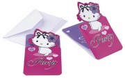 invitations chrammy kitty Thème Charmmy Kitty™, Invitations