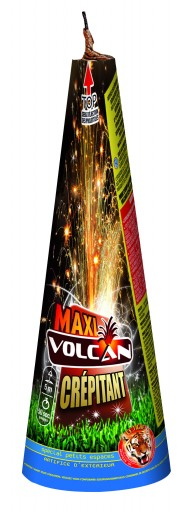 feux d'artifice automatique, feux d'artifice de proximité, feux d'artifices volcans, achat feux d'artifice paris, feux d'artifices pyragric Feux d'Artifices, Volcans, Maxi Volcan Crépitant