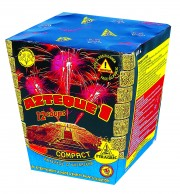 feu d'artifice aztèque, feux d'artifice automatiques, achat feux d'artifice paris, feux d'artifices compacts, feux d'artifices pyragric Feux d'Artifices, Compacts, Aztèque 1
