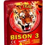 feux tigre Le Tigre Bison 3, Pétards