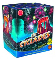 feux les cyclades, feux d'artifice automatiques, achat feux d'artifice paris, feux d'artifices compacts, feux d'artifices pyragric Feux d'Artifices, Compacts, Les Cyclades