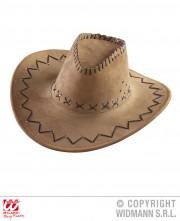 chapeau de cowboy, chapeaux de cowboys, chapeaux de cow boy, accessoire déguisement de cowboy Chapeau de Cowboy, Marron
