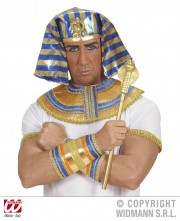 sceptre egyptien déguisement, sceptre de pharaon, accessoire pharaon déguisement, accessoire égyptien pharaon, sceptre serpent égypte déguisement Sceptre Egyptien