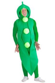 déguisement petit pois, déguisement légume adulte, costume légume, déguisement carotte Déguisement Petit Pois