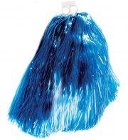 pompon de pom pom girl, pompon de cheerleader, accessoire pom pom girl déguisement, accessoire déguisement pom pom girl Pompon de Pom Pom Girl, Bleu