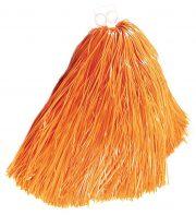 pompon de pom pom girl, pompon de cheerleader, accessoire pom pom girl déguisement, accessoire déguisement pom pom girl Pompon de Pom Pom Girl, Orange