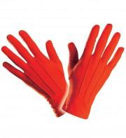 gants rouges, gants de couleur, accessoires gants déguisement, gants homme déguisement, accessoire déguisement, gants déguisement Gants Courts, Rouges