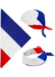 bandana France, accessoires france, accessoires euro 2021, drapeaux france, drapeau france, drapeau français, boutique supporters, Bandana France