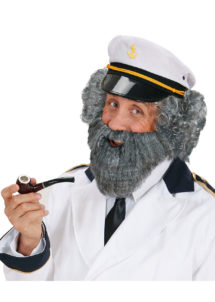 fausse barbe, fausses moustaches, postiche, barbe postiche, barbe grise, Barbe Grise