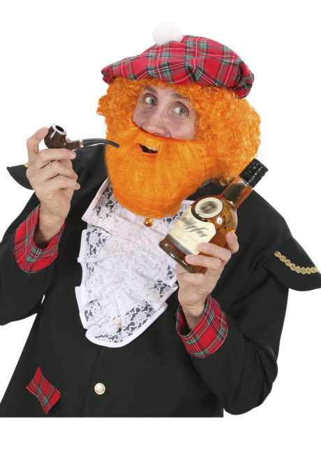 fausse barbe, fausses moustaches, postiche, barbe postiche, fausse barbe réaliste, fausse barbe de déguisement, barbe rousse, Barbe Rousse