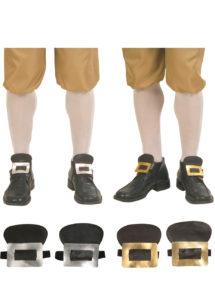boucles de chaussures, boucles chaussures déguisement, surchaussures déguisement, accessoire déguisement, accessoire déguisement de marquis, accessoire déguisement pirate, Boucles de Chaussures