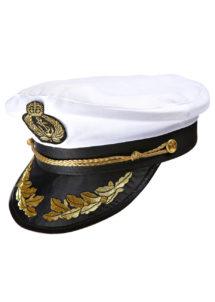 casquette marine, casquette de capitaine de marine, casquette de marin, accessoire déguisement de marin, Casquette de Marine