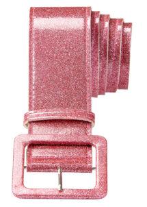 ceinture paillette, ceinture déguisement, ceinture disco, accessoire disco, ceinture rose, Ceinture Brillante, Rose