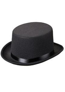 chapeaux haut de forme, chapeau haut de forme, chapeaux haut de forme paris, chapeaux paris, chapeau haut de forme noir, Chapeau Haut de Forme, Feutre Noir et Ruban Satin