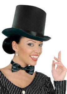 chapeaux haut de forme noir, chapeaux noirs, chapeaux hauts de forme, chapeau haut de forme, chapeaux paris, chapeaux hauts de forme, Chapeau Haut de Forme, Maxi, Noir