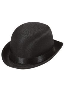 chapeau melon, chapeaux melons, chapeau melon noir, chapeaux melons satin, chapeaux paris, chapeaux melons et hauts de forme, Chapeau Melon, Satin Noir