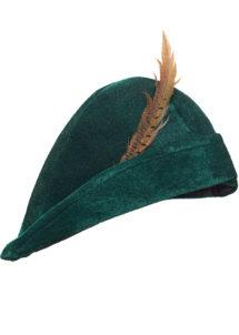 chapeau robin des bois, chapeaux de robin des bois, accessoire déguisement robin des bois, Chapeau Robin des Bois