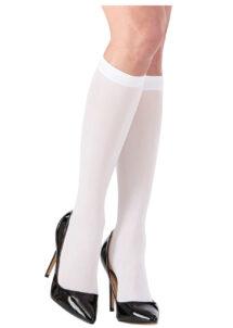 chaussettes blanches, chaussettes déguisement, chaussettes de marquis, chaussettes blanches déguisements, accessoires déguisement, chaussettes de roi, Chaussettes Blanches de Marquis